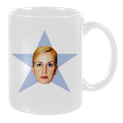 The Office Angela Star Mug Angela Kinsey Fans